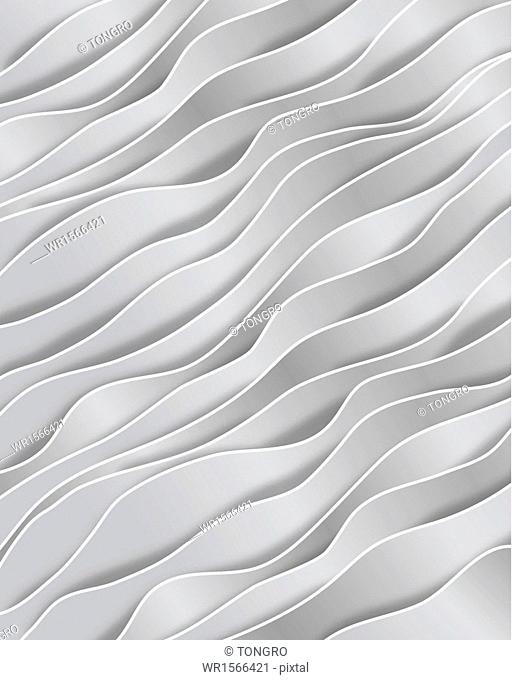 a template with wavy lines