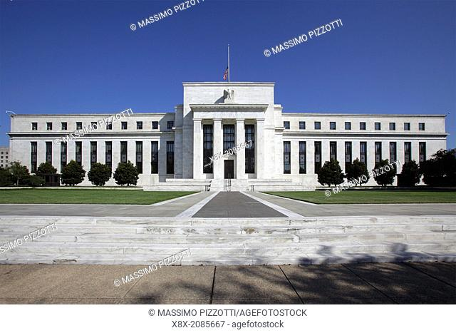 Federal Reserve Building, Washington D.C., USA