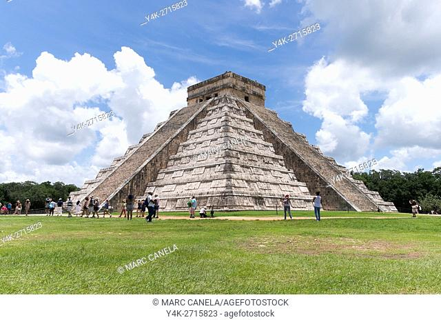 Mexico, Chichen Itza. Is located in the eastern portion of Yucatán state in Mexico Chichen Itza was a major focal point in the Northern Maya Lowlands from the...