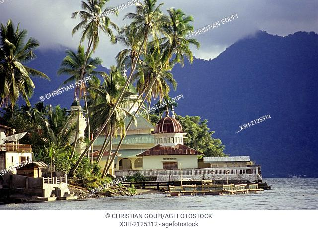 village on the Maninjau lakeshore, around Bukittinggi, Sumatra island, Republic of Indonesia, Southeast Asia and Oceania