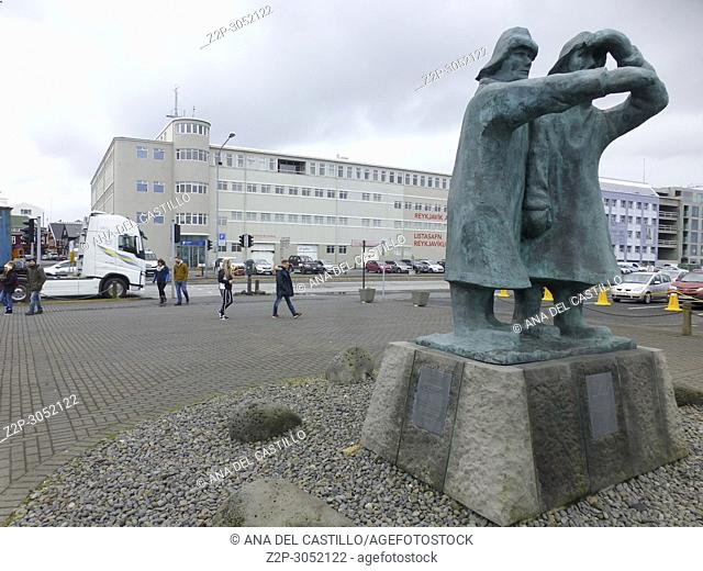 Reykjavik, the capital city of Iceland. The art museum
