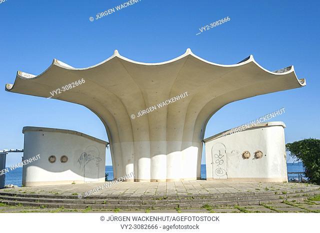 Bandstand, Sassnitz, Rügen, Mecklenburg-Vorpommern, Germany, Europe