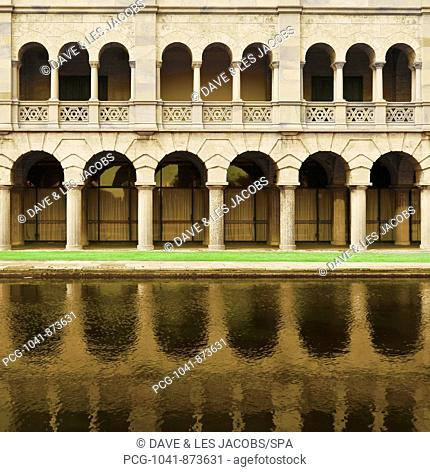 Arches and Columns Reflected in Water