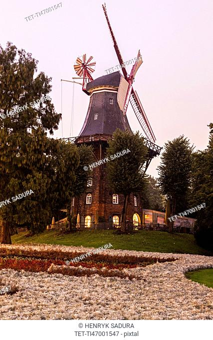 Am Wall Windmill in Bremen Bremen, Germany