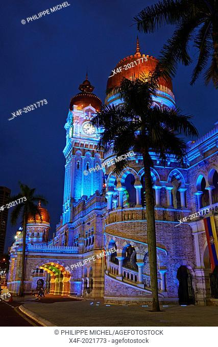 Malaysia, Selangor state, Kuala Lumpur, Sultan Abdul Samed Building