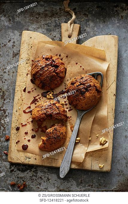 Barbique Kibbeh (grilled bulgur filled with bacon, Syria)