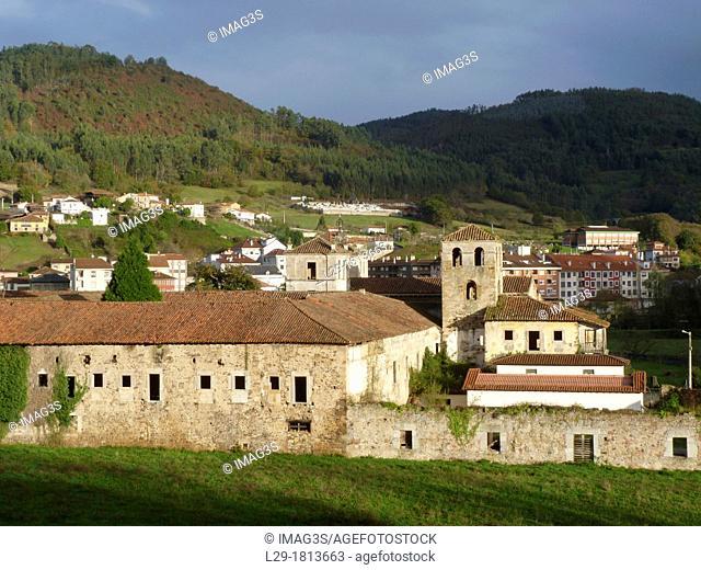 San Salvador de Cornellana Monastery XIth century, Cornellana, Salas municipality, Asturias, Spain