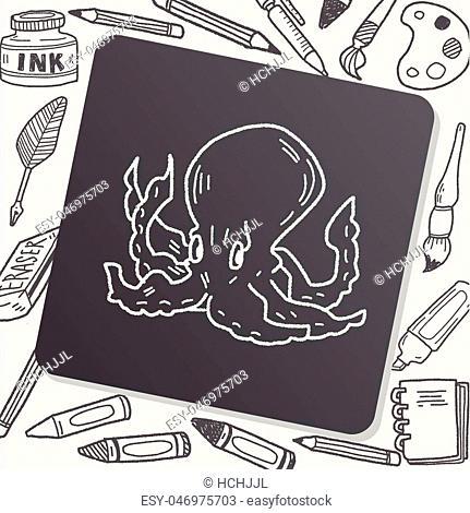 octopus doodle