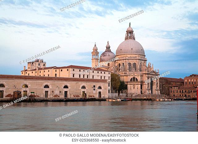 Santa Maria della Salute church at sunrise
