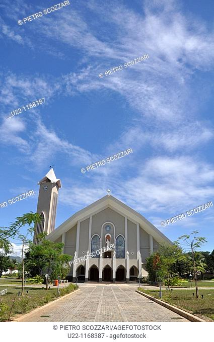 Dili (East Timor): the cathedral of the Immaculate Conception