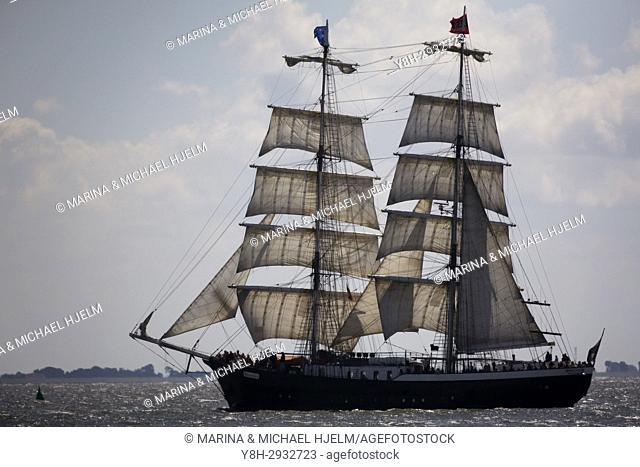 Sailing Boat Mercedes; Buesum; Ditmarschen; Schleswig-Holstein; Germany