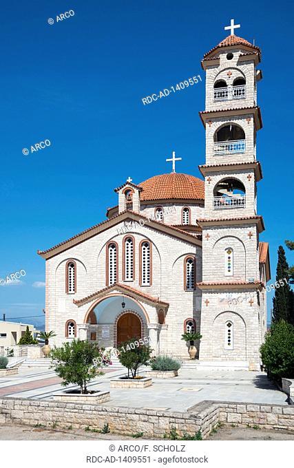 Assumption of the Virgin Mary, Kiveri, Argolis, Peloponnese, Greece, Naos Koimiseos tis Theotokou
