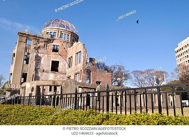 Hiroshima (Japan): the ruins of the 'Atomic bomb Dome'