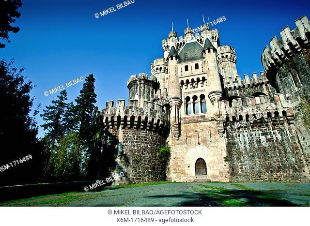 Butron castle  Gatika, Biscay, Spain