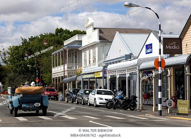 New Zealand, North Island, Martinborough, Kitchener Street