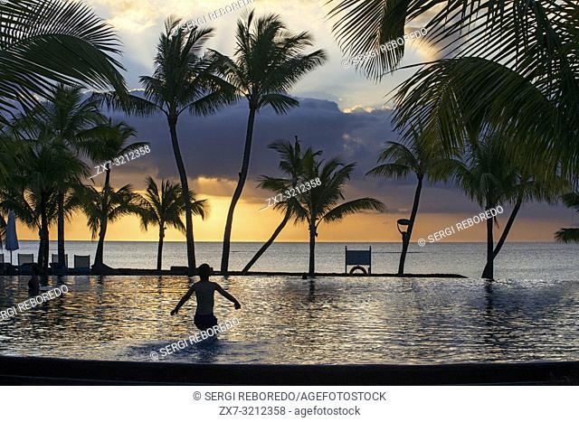 Pol of Trou aux Biches Hotel and Resort, Mauritius, Mascarenes, Indian Ocean