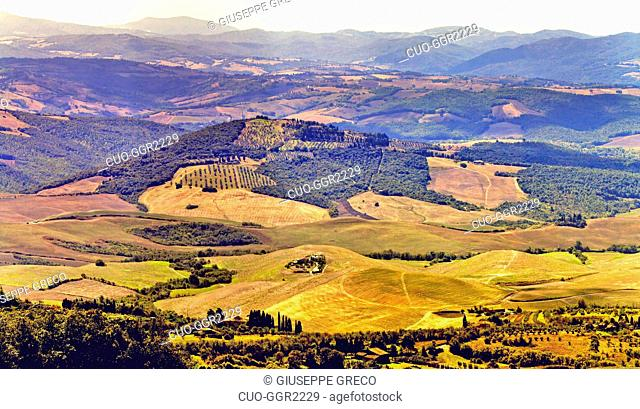 Countryside around Montepulciano,Tuscany, Italy, Europe