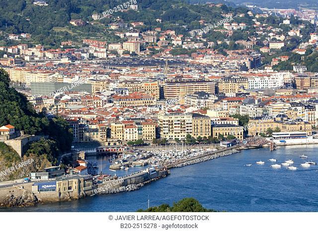 Port. Donostia. San Sebastian. Gipuzkoa. Basque Country. Spain
