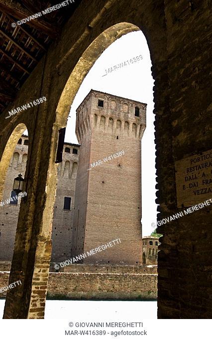 castello di vignola, emilia romagna, italia