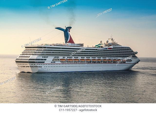 carnival victory,Basseterre; st.kitts; caribbean island