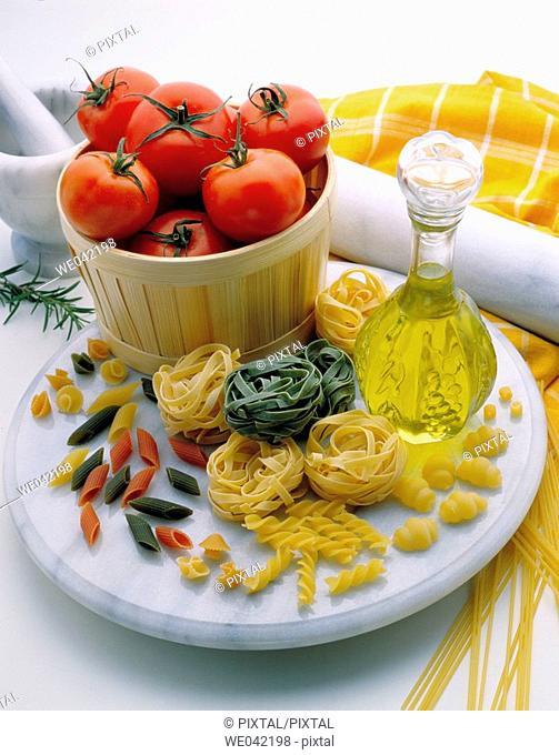 Pasta, Italian food