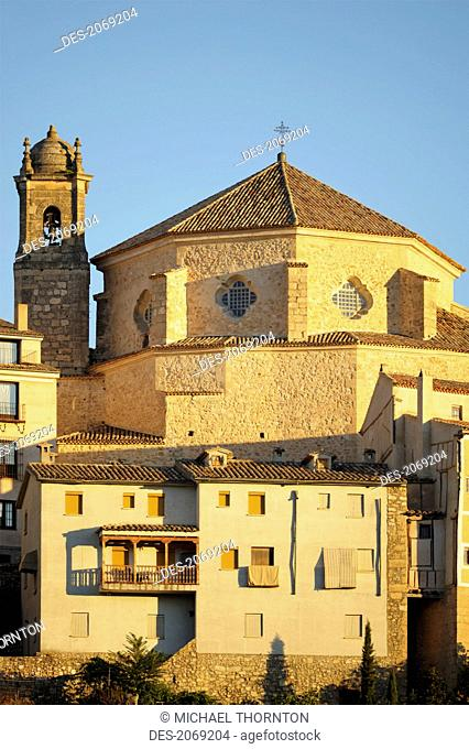 Iglesia De San Pedro At Sunrise, Cuenca Castile-La Mancha Spain