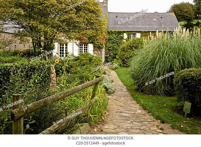 Country House of Jacques Prévert ( 1900-1977 ), famous french poet, in Omonville la Petite, Cotentin, Normandy, france