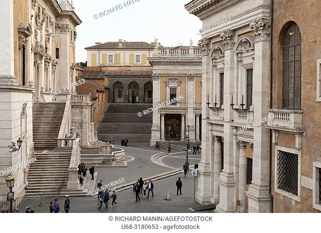 Italy, Rome. place of Michelangelo