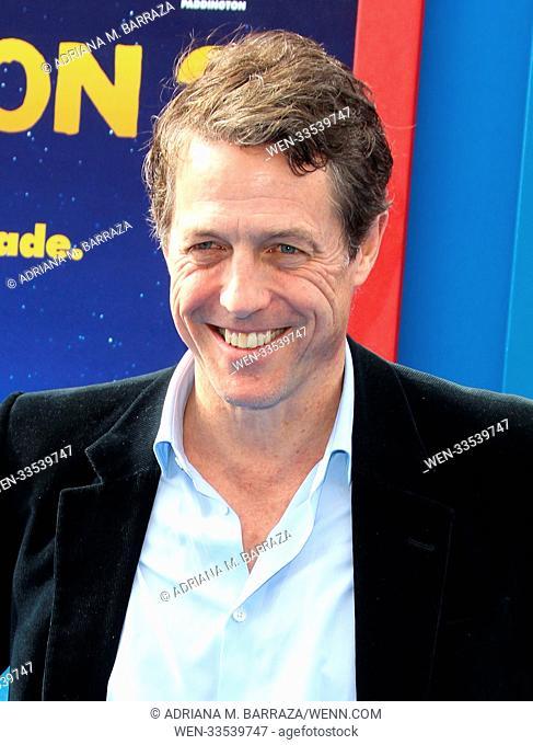 'Paddington 2' - Premiere at the Regency Village Theatre Featuring: Hugh Grant Where: Los Angeles, California, United States When: 06 Jan 2018 Credit: Adriana M