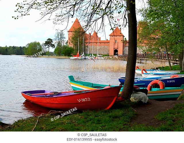 Trakai Castle most visited tourist place Lithuania