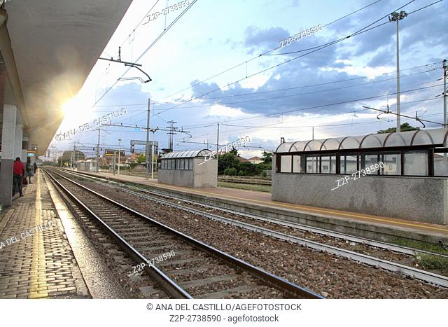 Nice train station in Provence France on September 19, 2015