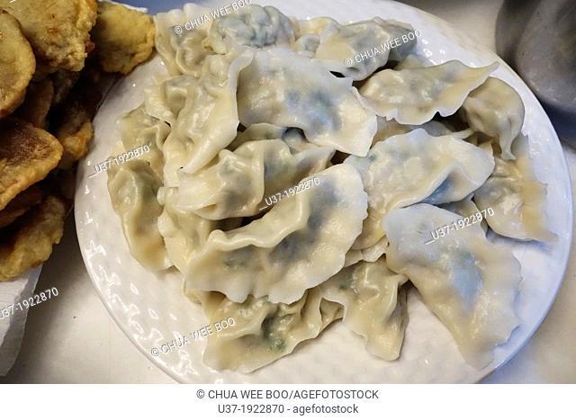 Steamed dumplings, Kuching, Sarawak, Malaysia