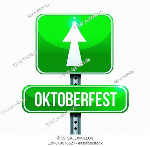 Oktoberfest sign illustration design