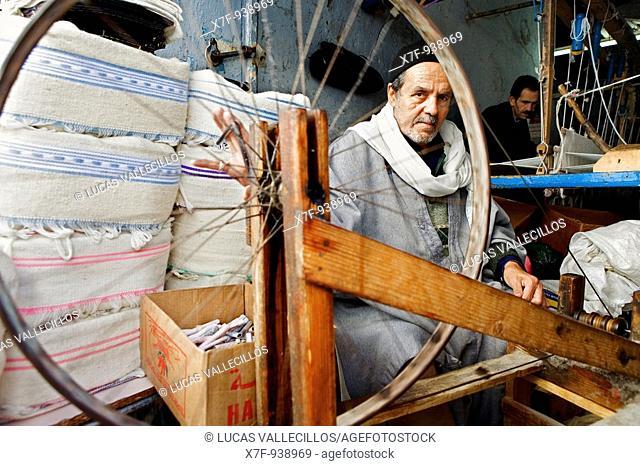 Tunez: Kairouan Medina Souk Spinerette