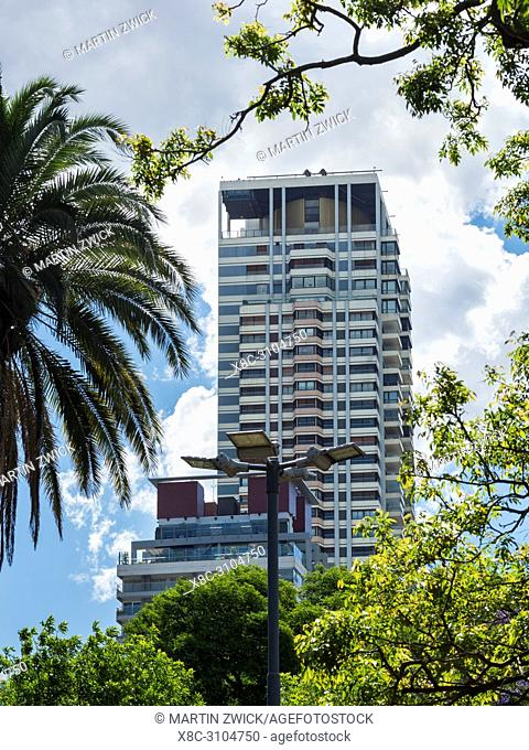 High rise buildings in Palermo. Buenos Aires, the capital of Argentina. South America, Argentina, November