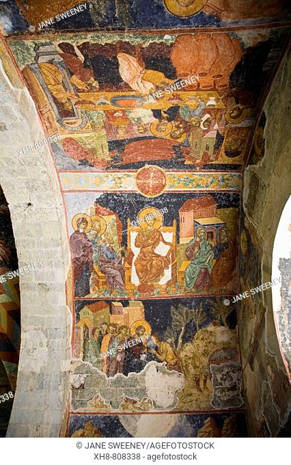 Turkey, Trabzon, Aya Sofya museum - Church of the Divine Wisdom, Biblical Frescoes