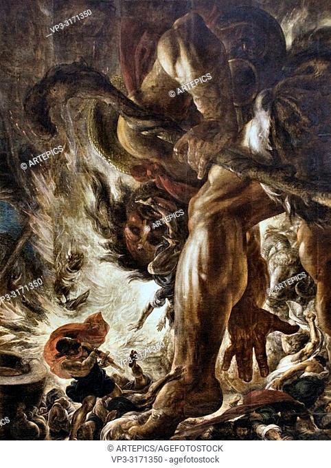 Wiertz Antoine - Un Grand De La Terre (Kronos Devouring His Children)
