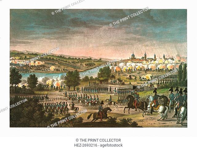 Battle of Dresden, 26 August 1813, (c1850). Artists: François-Louis Couché, Edme Bovinet