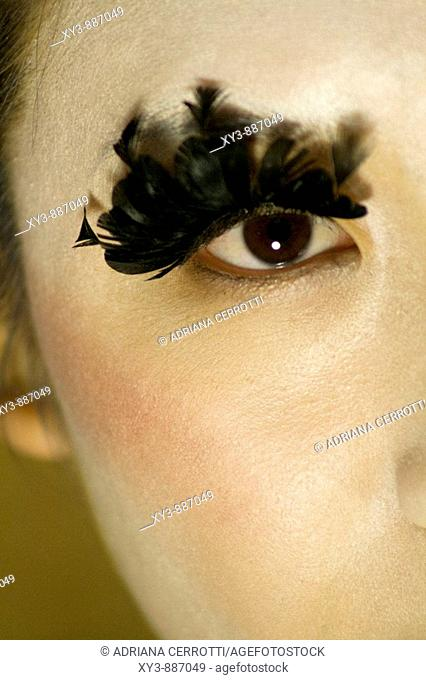 Girl geisha make Stock Photos and Images | age fotostock