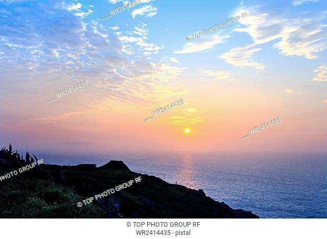 Sunrise Juguang Island Taiwan