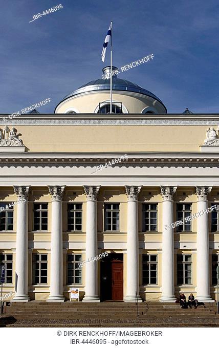 National Library, Helsinki, Finland