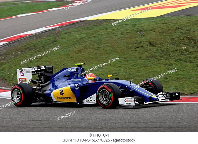 16.04.2016 - Qualifying, Felipe Nasr (BRA) Sauber C34