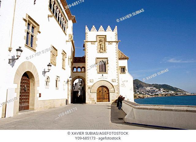 Maricel Museum, Sitges. Garraf, Barcelona province, Catalonia, Spain