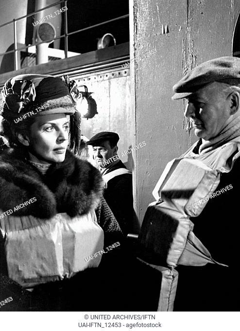 A Night To Remember, aka: Die letzte Nacht der Titanic, Großbritannien 1958, Regie: Roy Ward Baker, Darsteller: Harriet Johns, Patrick Waddington