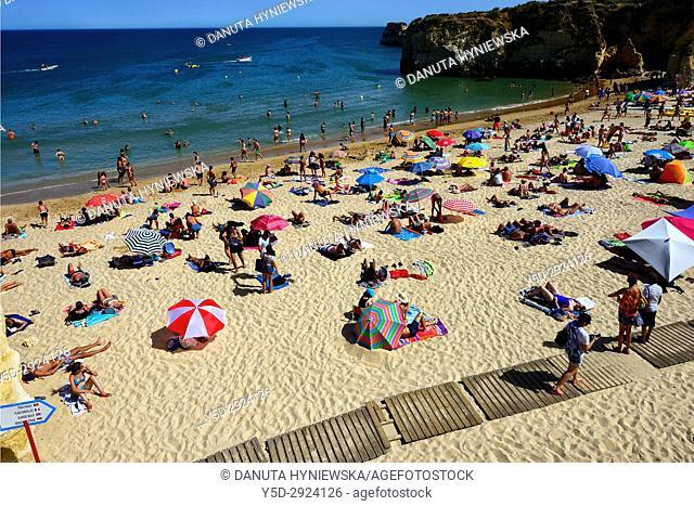 Batata beach, city center of Lagos, Algarve, portugal, Europe
