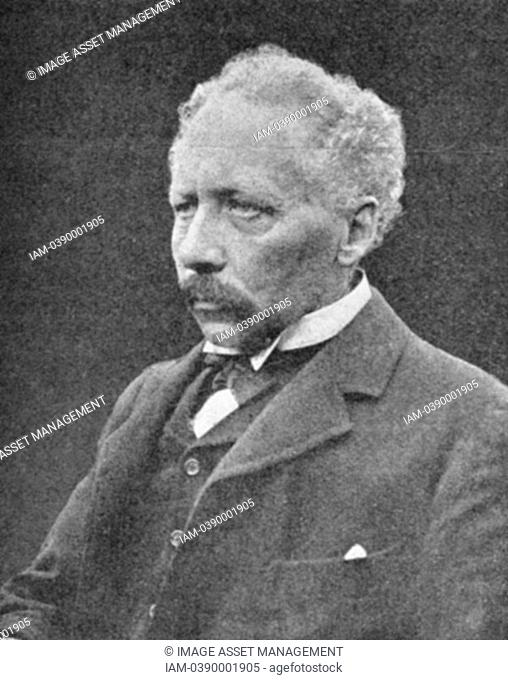 William Bateson 1861-1926 British geneticist  After photograph published 1914 when President of British Association for the Advancement of Science  Translated...