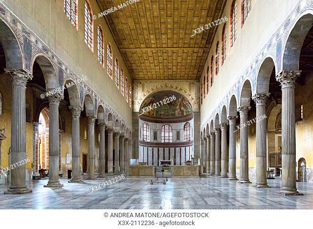 Church Basilica Santa Sabina. Rome, Italy