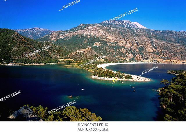 Turkey - Mediterranean Coast - Mugla Region - Fethiye - Oluedeniz Bay