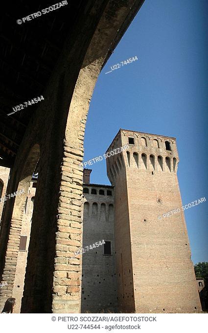 Vignola Modena, Italy, the Castle