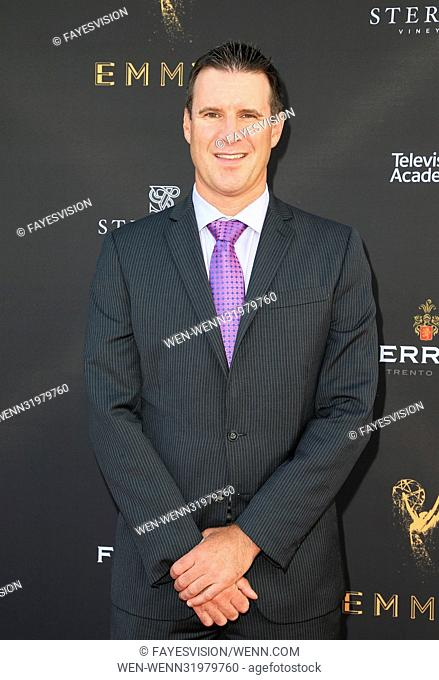 69th Los Angeles Area Emmy Awards Featuring: Mike Bresnahan Where: Los Angeles, California, United States When: 23 Jul 2017 Credit: FayesVision/WENN